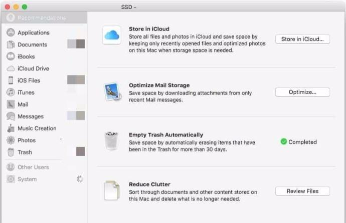 dọn file rác trên macbook