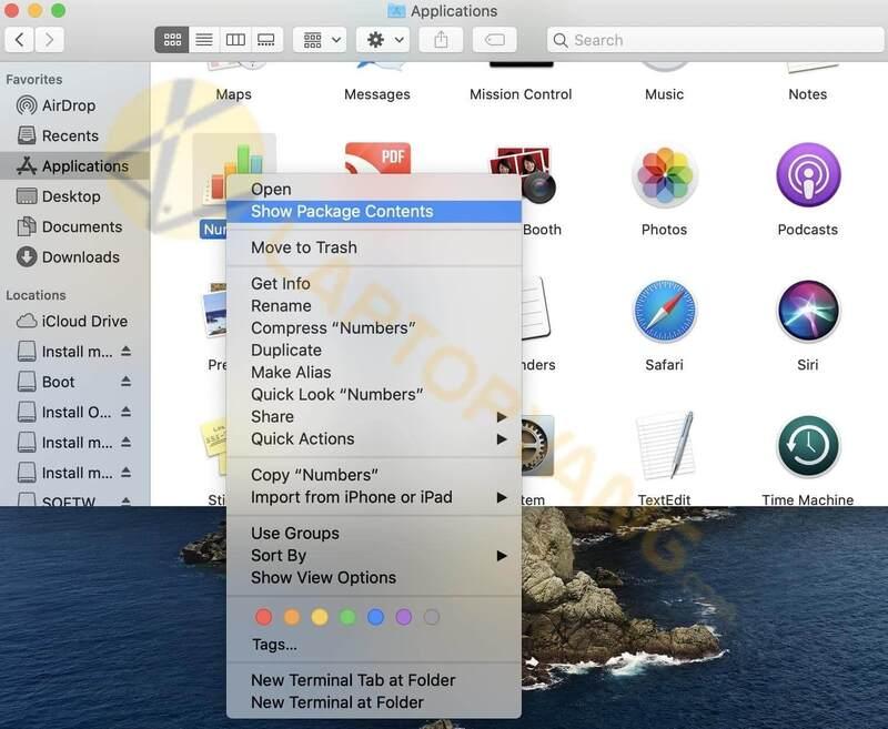 gỡ cài đặt ứng dụng trên macbook