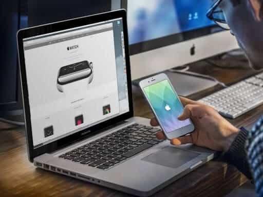 cách kết nối iphone x với macbook