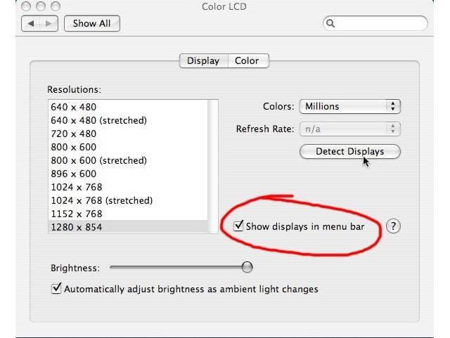 kết nối macbook air với máy chiếu