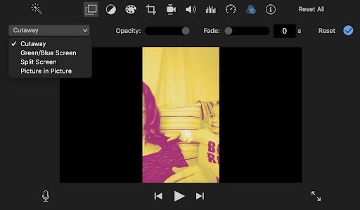 tạo video trên macbook bằng imovie