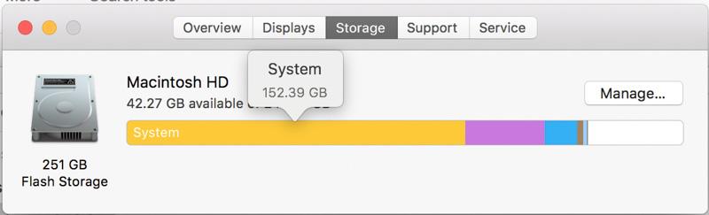 Kiểm tra ổ cứng Macbook