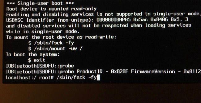 macbook pro không nhận ổ cứng