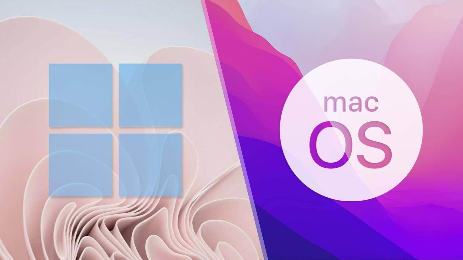 Windows mang đến giao diện thân thiện với người dùng hơn so với MacOS