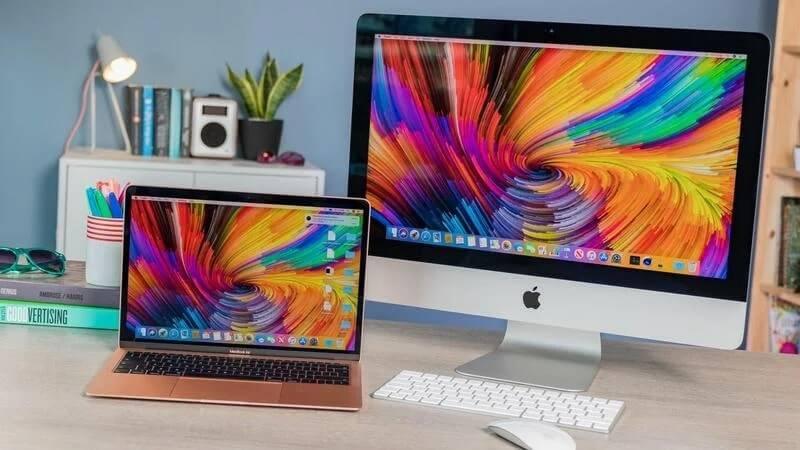 so sánh macbook và imac