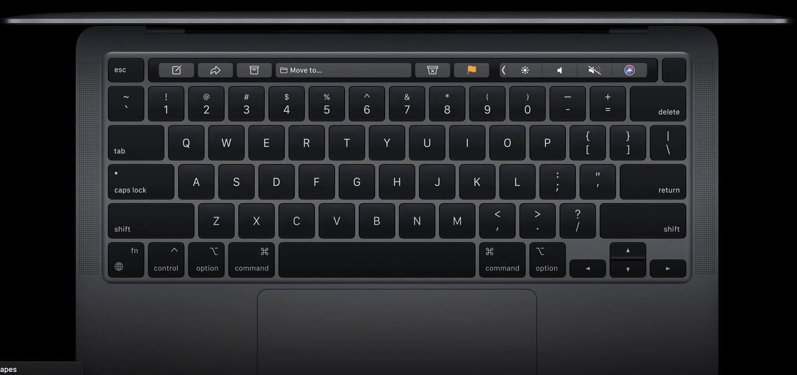 bàn phím macbook pro 2020