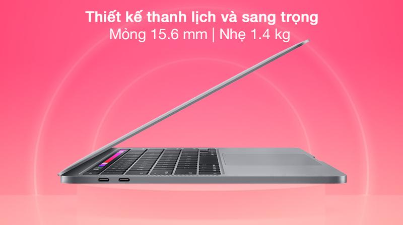 Ngoại Hình MacBook Pro M1 13 inch