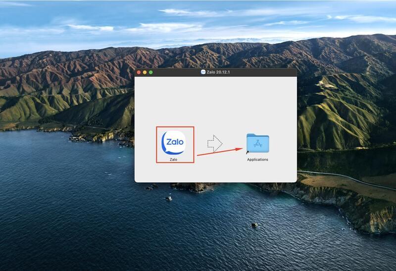 tải zalo cho macbook