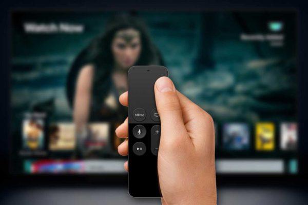 Bàn rê cảm ứng trên Remote