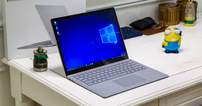 surface laptop 2018