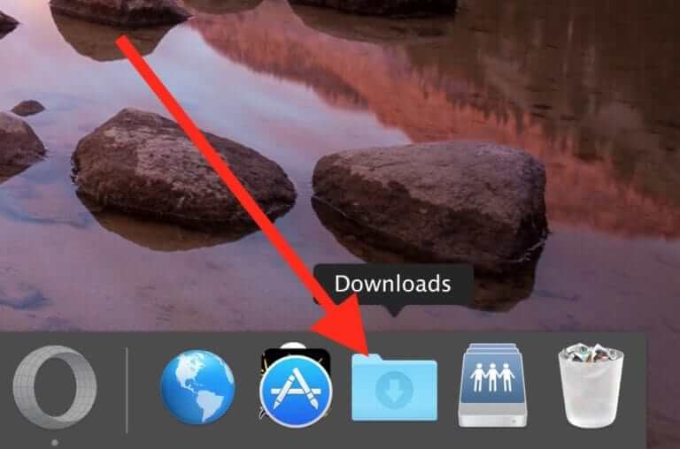 cách mở file tải về trên macbook