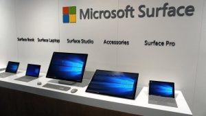 surface là gì
