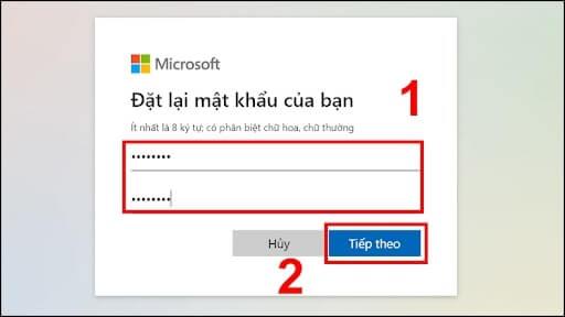 cách reset password win 10