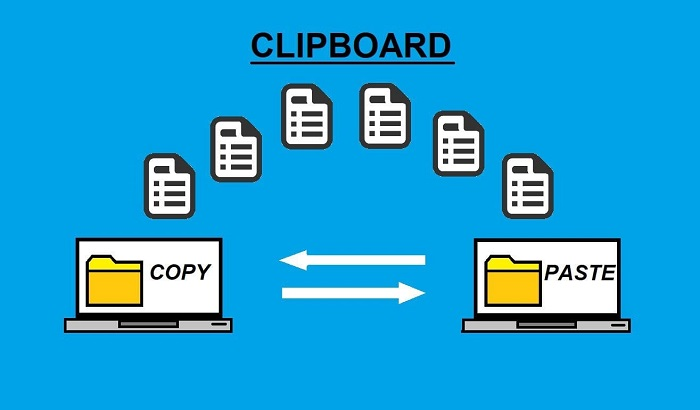 mở clipboard