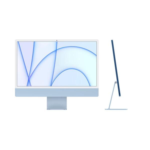 iMac 24 inch 2021 M1 4.5K Màu Xanh Dương - Laptop Vàng