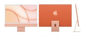 iMac M1 24 inch 4.5K 2021 Cam - Laptop Vàng