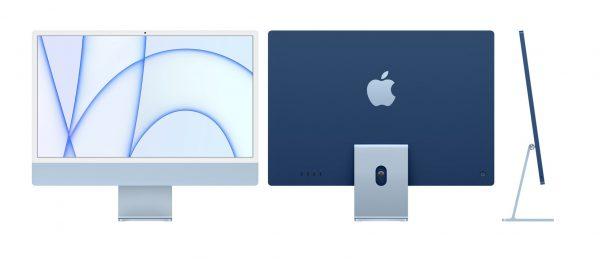 iMac 2021 M1 4.5K 24 inch Xanh Dương - Laptop Vàng