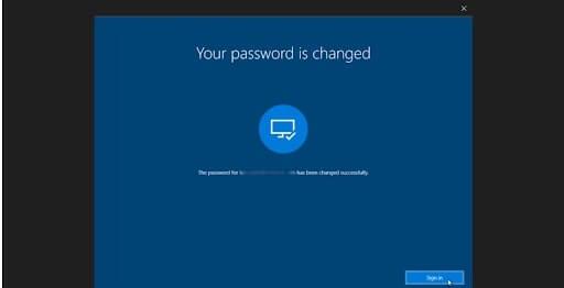 cách mở máy tính khi quên mật khẩu win 10