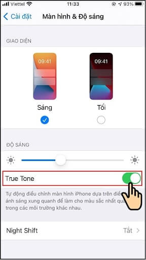 true tone iphone