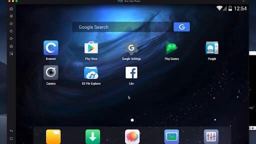 phần mềm giả lập android trên macbook