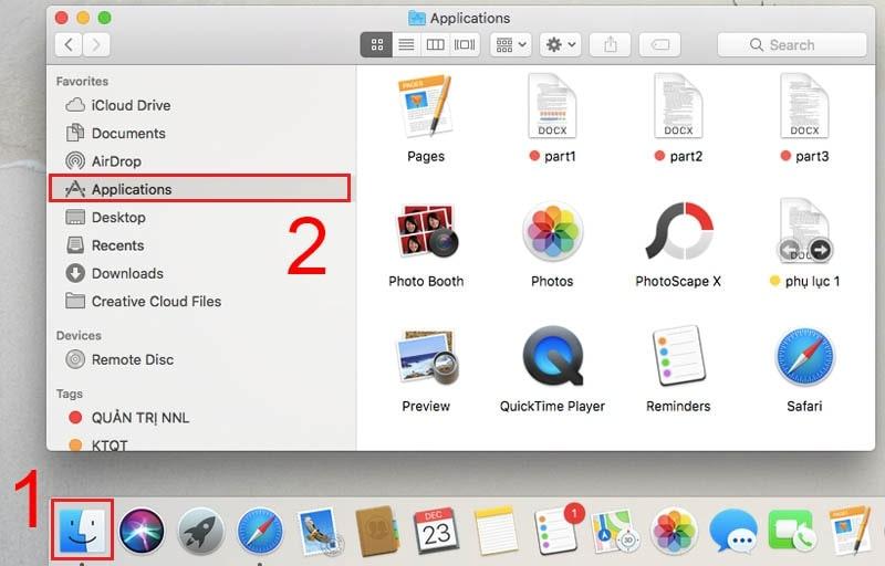 mở camera trên macbook