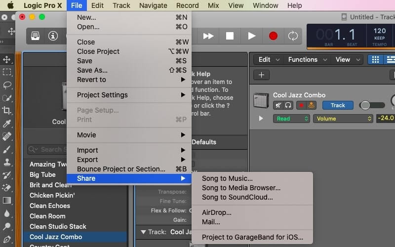 chỉnh âm thanh trên macbook