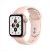 Apple Watch SE LTE 40mm Gold Aluminum Pink Sand Sport Band