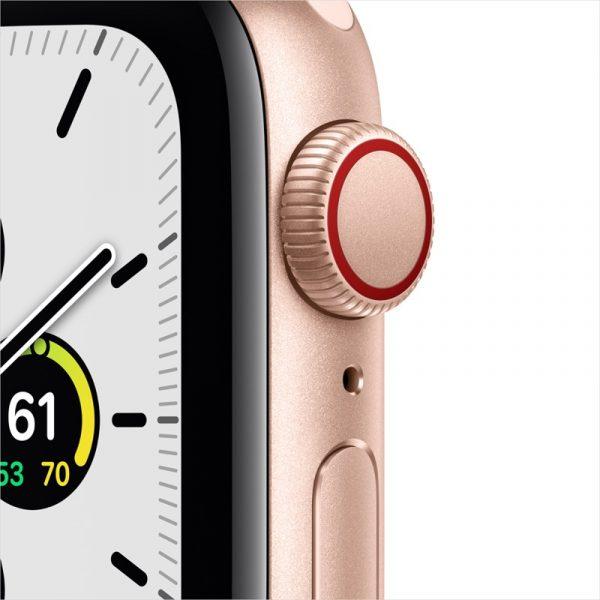 Apple Watch SE LTE 40mm Gold Aluminum Sand Sport Band Gold