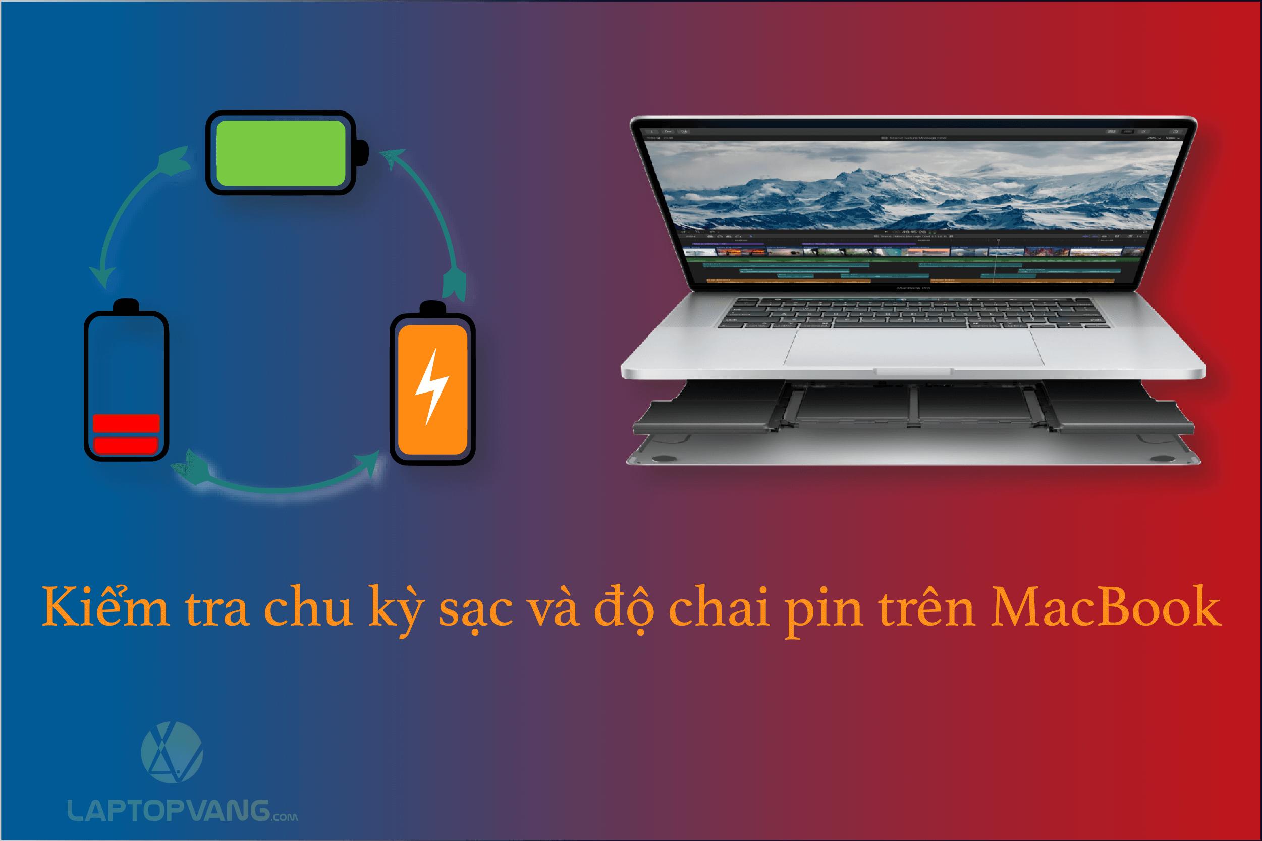 Chu kỳ sạc MacBook
