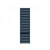 apple watch band saddle baltic blue leather link laptopvang 1