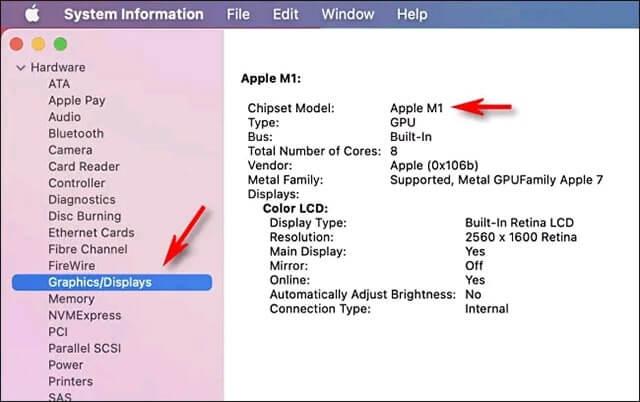 cấu hình macbook air