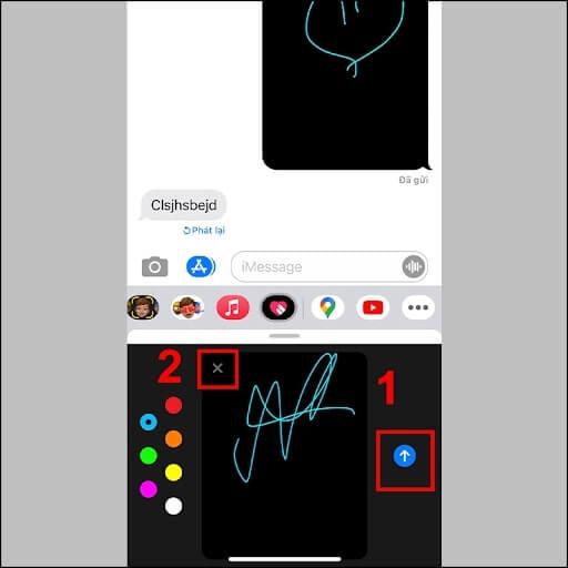 cách gửi imessage iphone
