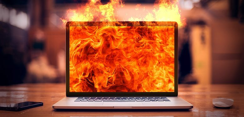 laptop nóng