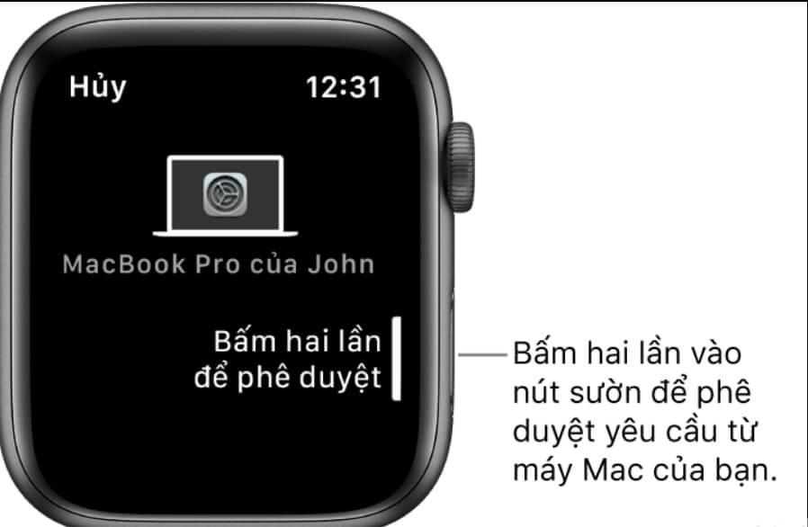 kết nối apple watch với macbook