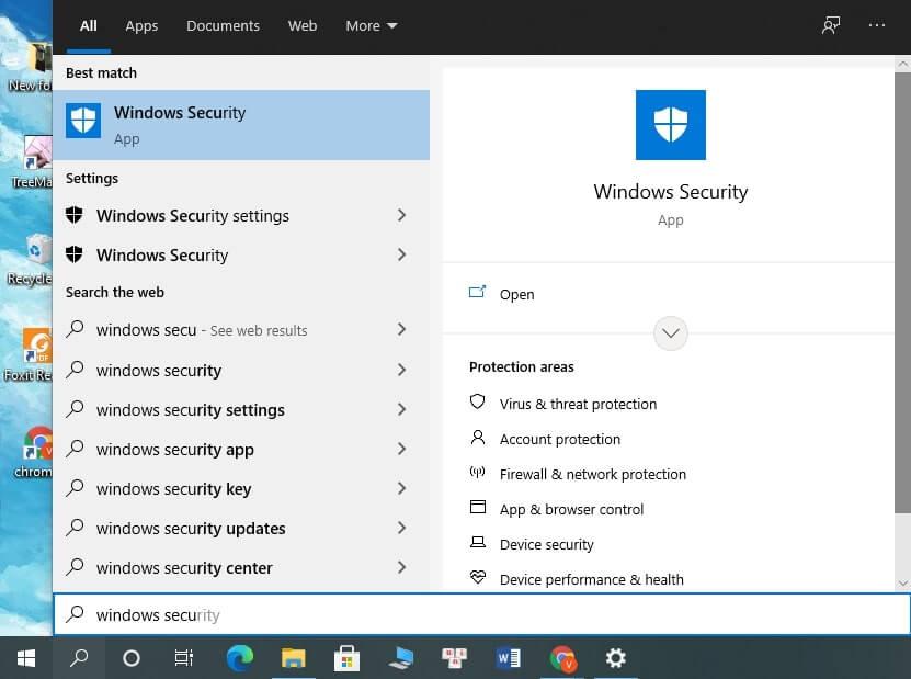 tắt windows defender security center win 10