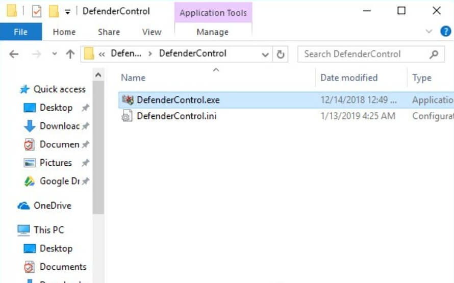 hướng dẫn tắt windows defender