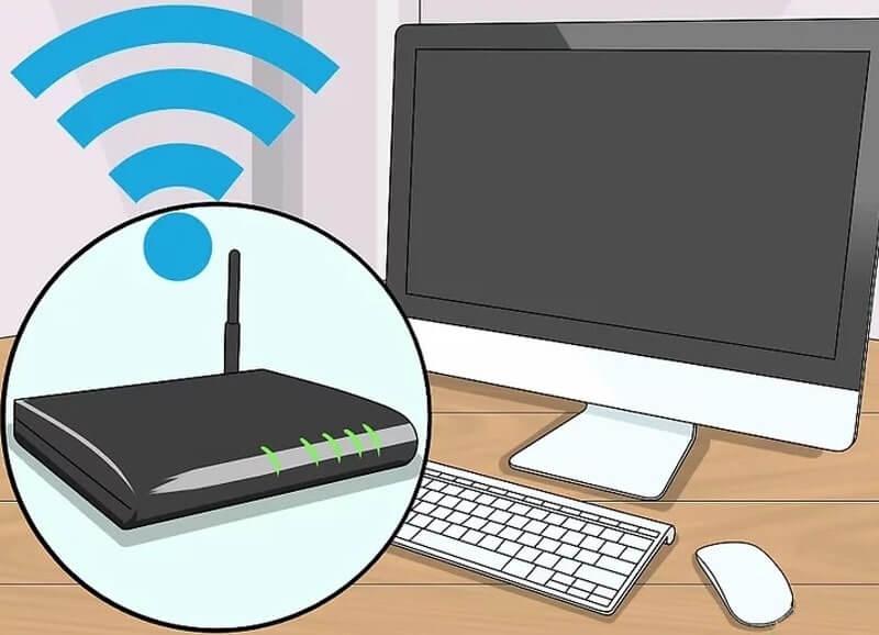 cách kết nối laptop với máy in