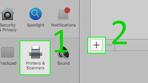 cách kết nối máy in canon với laptop
