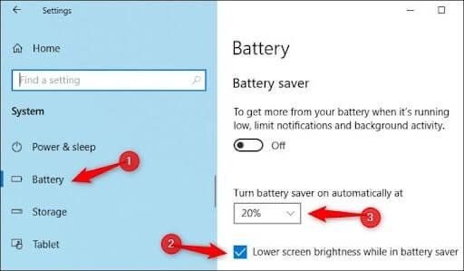 chỉnh độ sáng màn hình desktop