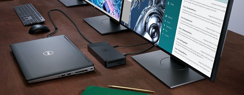 Kết nối chuột, bàn phím không dây qua các cổng USB-A