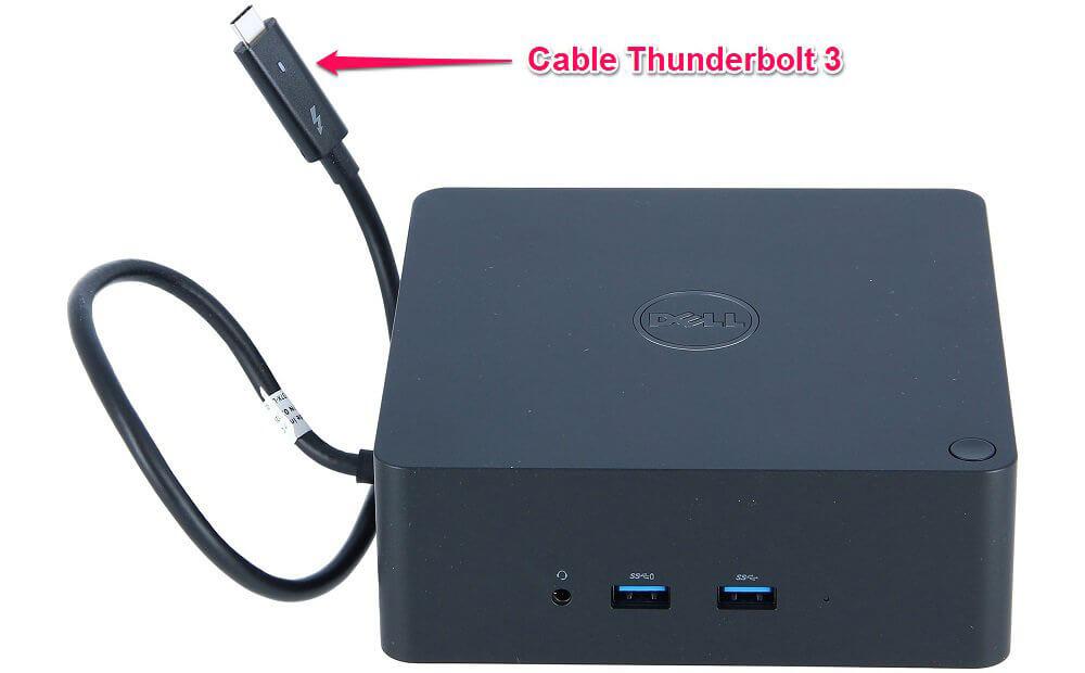 Cáp kết nối dữ liệu của Dell TB16 Thunderbolt Dock