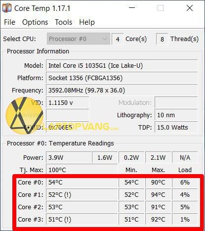 nhiệt độ ổ cứng bao nhiêu là tốt
