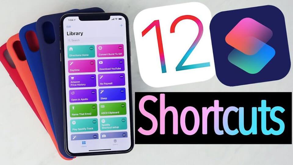 Shortcuts trên iOS 12