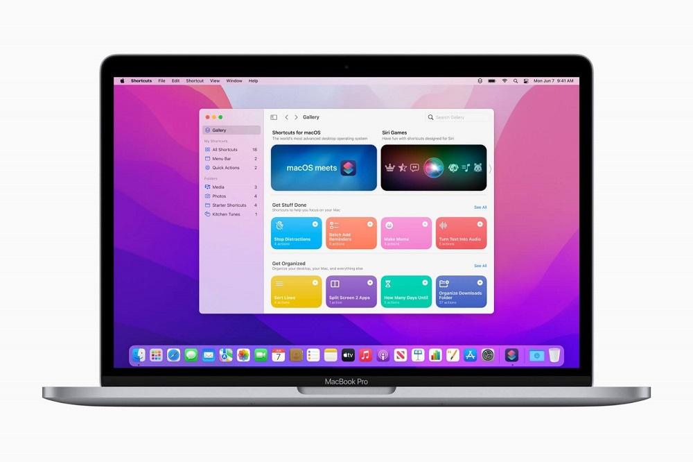 Shortcuts sẽ có sẵn trên macOS Monterey