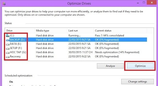 how to fix full disk win 10