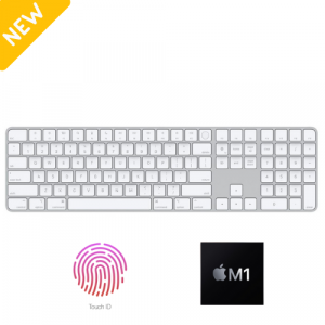 Apple Magic Keyboard with Touch ID & Numpad (Fullsize)