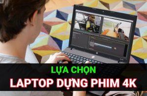 laptop dựng phim