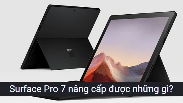 Surface Pro 7 có thể nâng cấp được những gì?