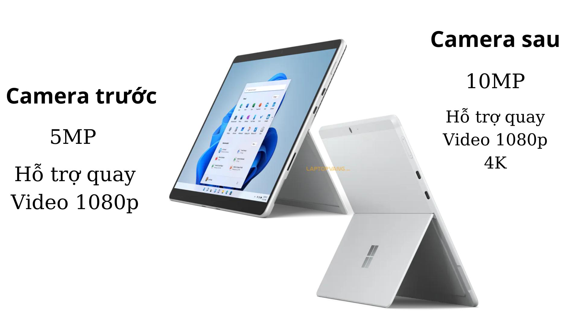Camera trên Surface Pro 8 laptopvang