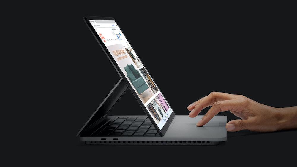 cổng kết nối trên surface laptop studio i5